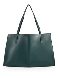 Maiyet Sia East West Leather Tote Leaf Slate Brown Chocolate Luggage Black