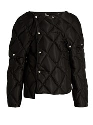 Acne Studios Bobbi Quilted Down Coat Black