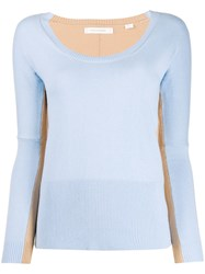 Chinti And Parker Two Tone Knitted Top 60