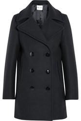 Mih Jeans M.I.H Wool Blend Peacoat Navy