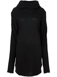 Lost And Found Ria Dunn Oversized Hoodie Black