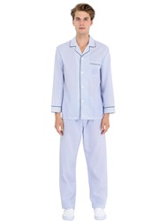 Brooks Brothers Long Sleeve Cotton Pajama Set