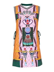 Adidas Originals By Mary Katrantzou Digital Print Sleeveless Dress