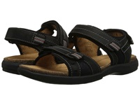 Clarks Un.Bryman Sun Black Leather Men's Sandals