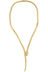 Shaun Leane Serpent 18 Karat Gold Necklace