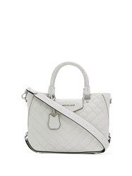 Michael Michael Kors Quilted Tote Bag White