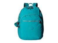 Kipling Seoul Backpack With Laptop Protection Brilliant Jade Backpack Bags Blue