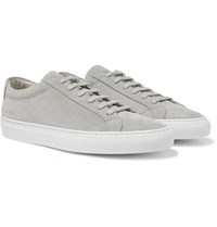 Common Projects Original Achilles Suede Sneakers Gray