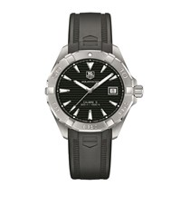 Tag Heuer Aquaracer Rubber Strap Automatic Watch Unisex