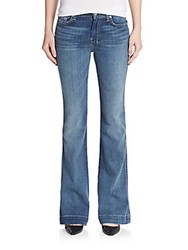 7 For All Mankind Slim Flared Jeans Sadie Blue