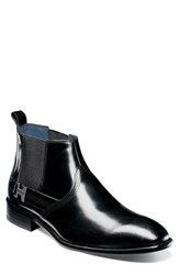 Stacy Adams Joffrey Chelsea Boot Black Leather