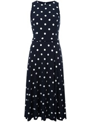 Polo Ralph Lauren Polka Dot Sundress Blue