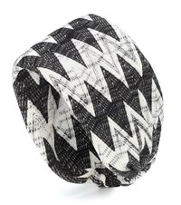 Missoni Knitted Wool Blend Headband Black