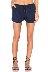 York Street Tie Front Short Navy