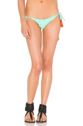 Vix Swimwear Ripple Tie Side Bikini Bottom Mint
