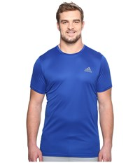 Adidas Essentials Tech Tee Big Tall Collegiate Royal Men's Short Sleeve Pullover Blue