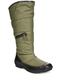 Sporto Master Zip Up Vylon Cold Weather Boots Women's Shoes