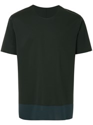 Attachment Two Tone T Shirt Black