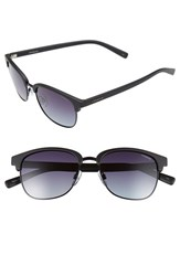 Women's Polaroid Eyewear 55Mm Polarized Sunglasses Matte Black Polarized