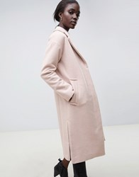 Parka London Sommersby Tailored Duster Coat Soft Pink