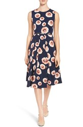 Emerson Rose Women's Floral Print Fit And Flare Dress