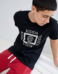 Christopher Shannon Kidda By Chain T Shirt In Black