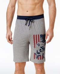 Briefly Stated Men's Super Hero Cotton Pajama Shorts Assorted
