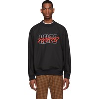 Kenzo Black Embroidered Logo Sweatshirt