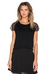 Karina Grimaldi Julia Top Black