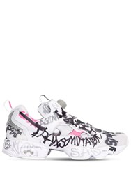 Vetements Instagram Graffiti Fury Sneakers White Multi