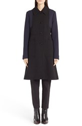 Women's Marni Colorblock Wool Coat