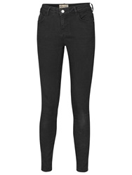 Fat Face Twill Jeggings Black