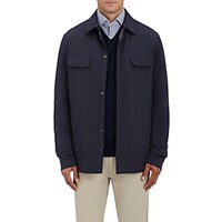 Ermenegildo Zegna Men's Tech Fabric Jacket Navy