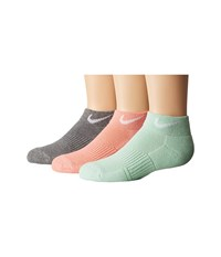 Nike Cotton Cushioned Low Cut With Moisture Management 3 Pair Pack Multicolor Women's Low Cut Socks Shoes