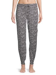 Green Dragon Cut Out Side Printed Pant Cover Ups Black White