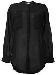 Forte Forte Patch Pocket Shirt Black