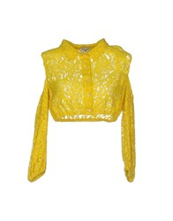 Leitmotiv Shirts Yellow
