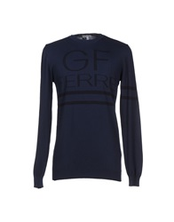 Gianfranco Ferre Gf Ferre' Sweaters Dark Blue