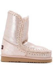 Mou Lined Metallic Boots 60