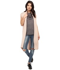 Obey Leila Wrap Rose Dust Women's Sweater Pink