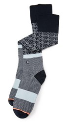 Stance Library Socks Navy