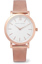 Larsson And Jennings Lugano Rose Gold Plated Watch
