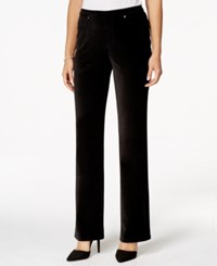 Styleandco. Style And Co. Bootcut Corduroy Leggings Only At Macy's Deep Black