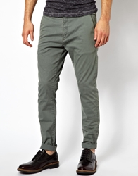 Dr. Denim Dr Denim Chinos Heywood Skinny Fit Grey