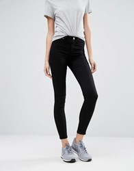 Warehouse The Ultra Skinny Cut Jean Black
