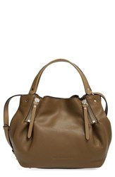 Burberry 'Small Maidstone' Leather Satchel