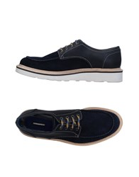 Dsquared2 Lace Up Shoes Dark Blue