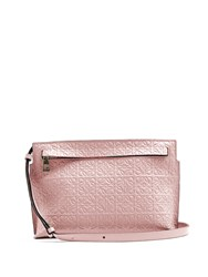 Loewe T Mini Leather Cross Body Bag Light Pink