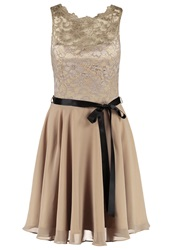 Swing Cocktail Dress Party Dress Khaki Khaki
