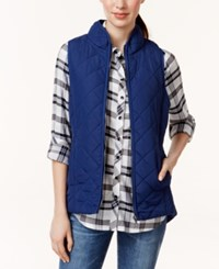 G.H. Bass And Co. Front Zip Puffer Vest
